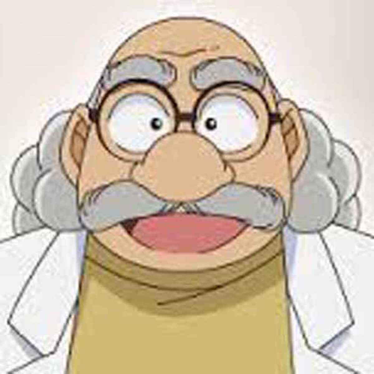 アニメの中で発明をする博士の存在