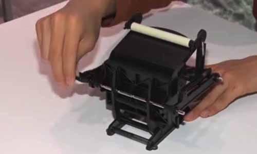 大人の科学マガジンの付録「小さな活版印刷機」の話:ZIP!【2017/11/24】
