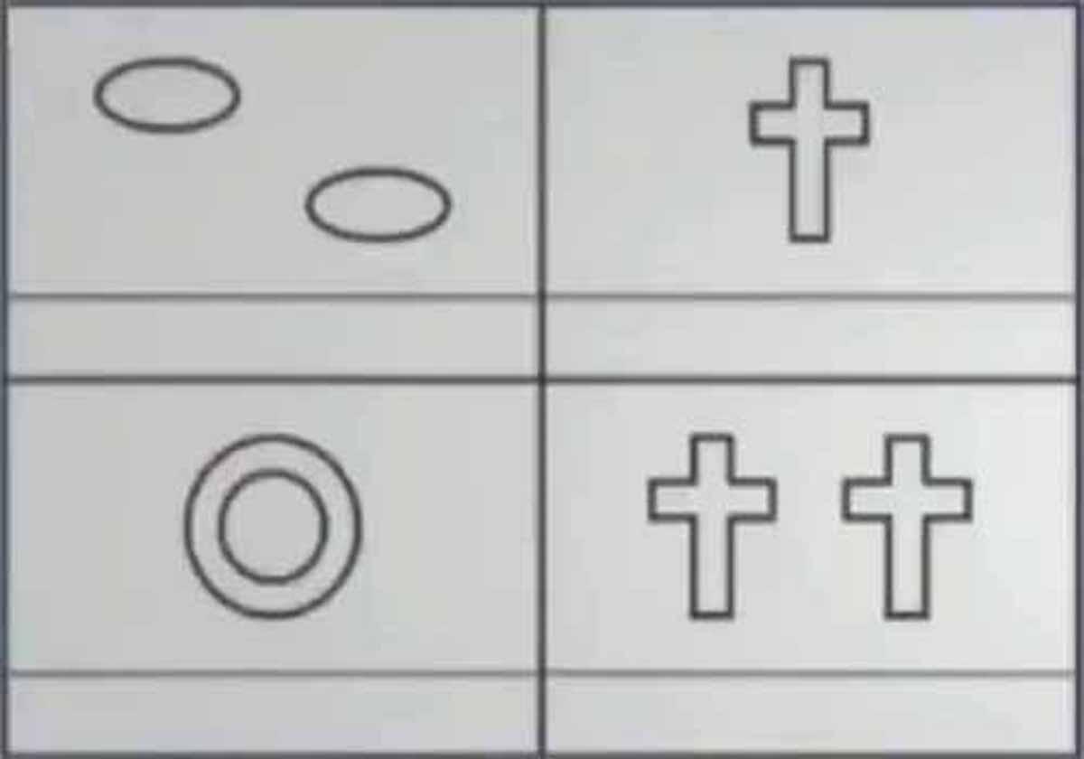 【心理テスト】4つの図形の形容詞は?:月曜から夜ふかし【2018/12/03】