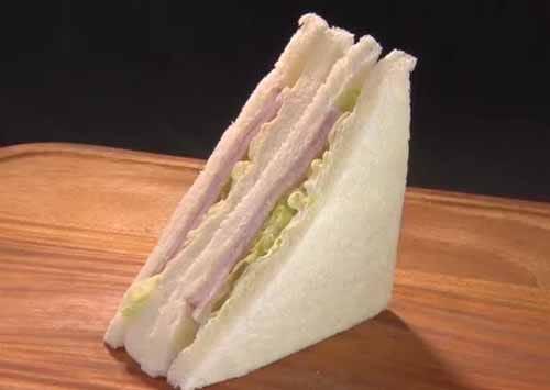 サンドイッチはどこから食べる?という話:ZIP!【2019/03/04】