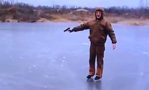 氷が張った湖に発砲したらどうなるか?という話:ありえへん∞世界【2019/04/02】