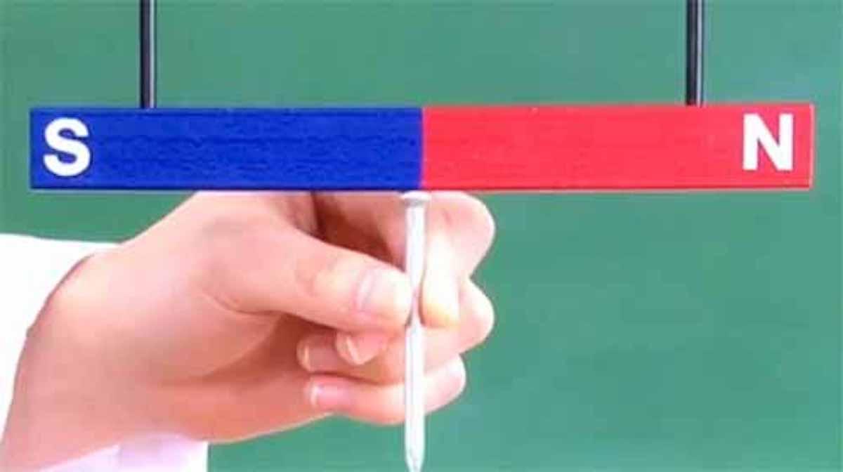 棒磁石の真ん中に釘を近づけるとどうなる?という話:クイズ!あなたは小学5年生より賢いの?【2019/05/03】