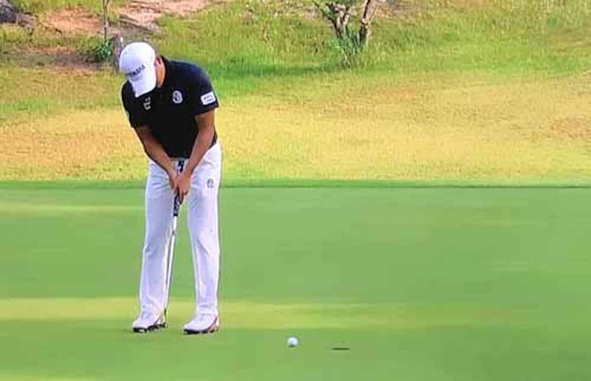 ゴルフでティーを使ったパットの練習法:サンデーLIVE!!【2019/06/09】