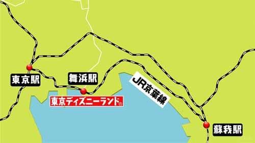新木場 駅 から 舞浜 駅