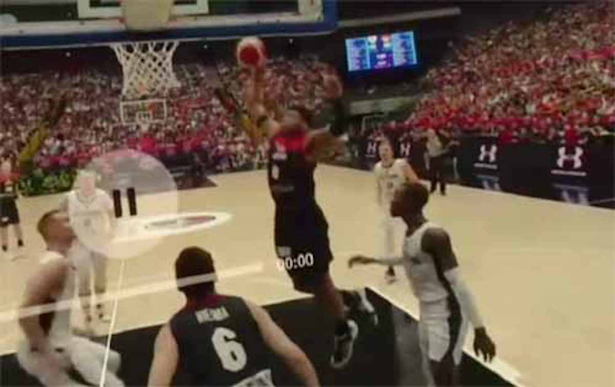 バスケットボール5G観戦の臨場感がスゴイ!という話:サンデーLIVE!!【2019/08/25】