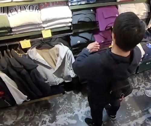 お店で手に取った服の正しい戻し方:ZIP【2019/11/28】