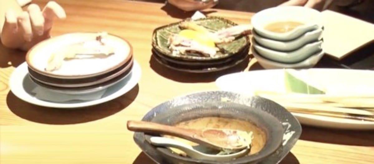 居酒屋ではお皿を重ねない方がよい!という話:ZIP【2019/11/28】