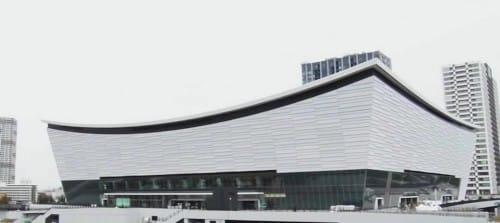 なぜ有明アリーナの屋根は反り返っているのか?という話:初耳学【2019/12/08】