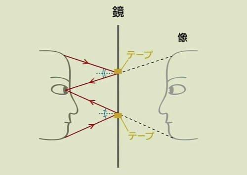 鏡に映る自分の顔の大きさは変わらない?という話:2355【2020/01/24】