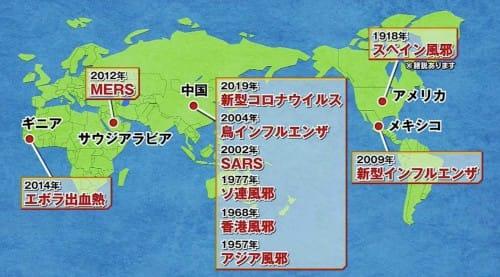 ウイルス感染症が中国から広まる理由:池上彰のニュースそうだったのか!【2020/02/15】