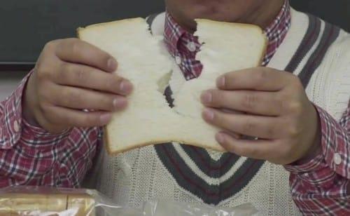食パンを手でキレイに切る方法:2355【2020/03/20】