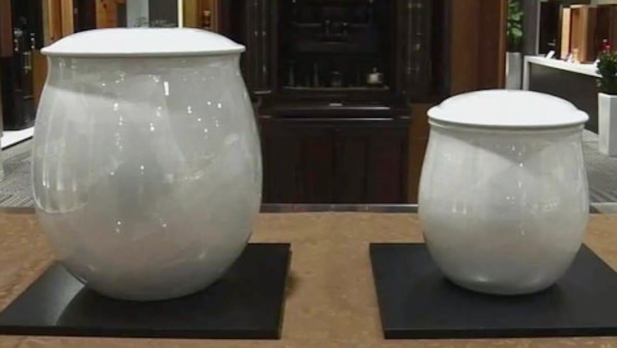 大きい骨壷と小さい骨壷:林修のニッポンドリル【2020/04/15】
