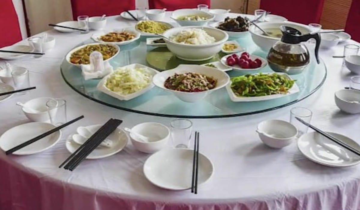 中国料理の回転テーブルは日本発祥!?という話:チコちゃんに叱られる!【2020/04/24】