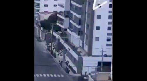 マンションの8階で子どもが空中ブランコをしている!という話:めざましテレビ【2020/05/25】
