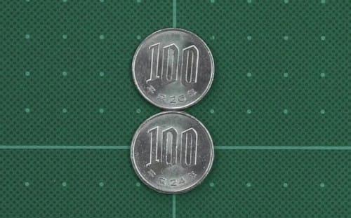 100円玉は何回転するか?という話:2355【2020/05/29】