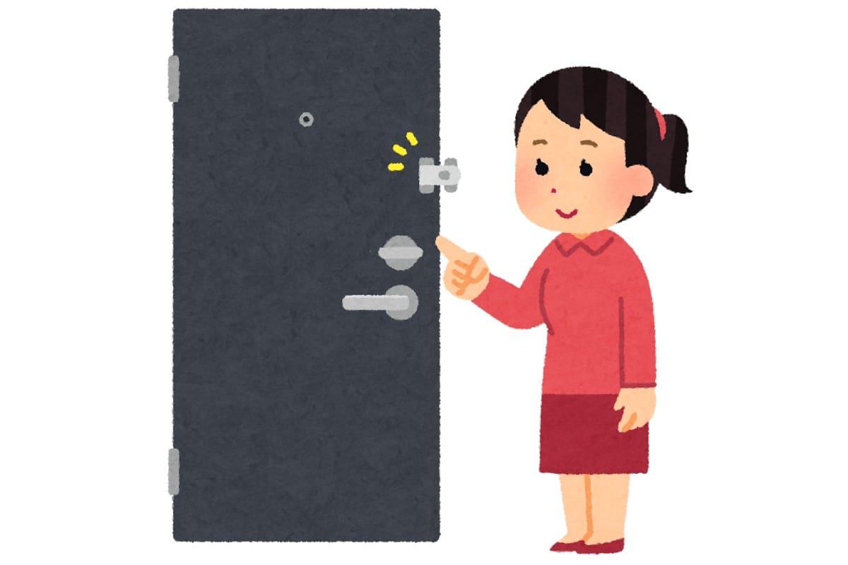 U字ロックを外からかけて密室を作る方法:この差って何ですか?【2020/08/04】